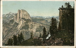 Half Dome and Glacier Point