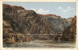Kaibab Suspension Bridge across the Colorado River