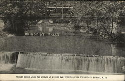 Trolley Bridge Across the Buffalo at Waugh's Dam