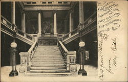 Carnegie Library - Staircase of Art Gallery