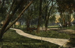 Scene in Paris Park