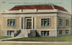 Carnegie Public Library, Cor. 8th & Beech Sts.