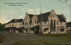 Santa Fe Depot and Harvey House