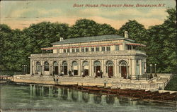 Boat House at Prospect Park