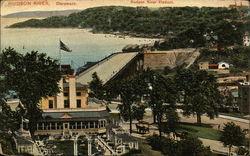 Hudson River - Hudson River Viaduct, Claremont