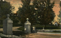 Entrance to Blossom Hill Cemetery