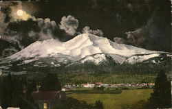 Mt. Shasta by Moonlight