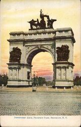 Defenders' Arch in Prospect Park
