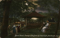 Band Stand, Orange Lake Park, by Moonlight