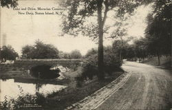 Lake and Drive, Moravian Cemetery, New Dorp