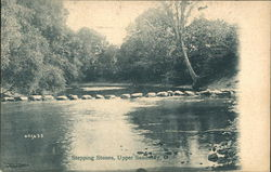 Stepping Stones, Across a Creek