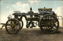 The First Gasoline Fire Engine, Made in Schenectady