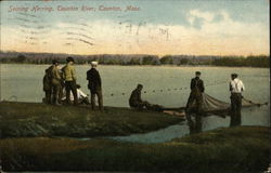 Seining Herring on the Taunton River
