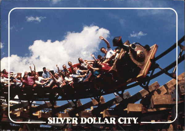 Thunderation Roller Coaster Silver Dollar City Missouri
