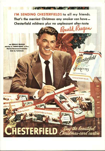 Reagan & Chesterfields Advertising Reproductions