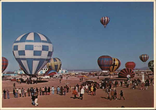 Hot Air Balloon Capitol of the World Albuquerque New Mexico