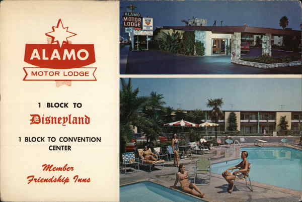 Alamo Motor Lodge Anaheim California