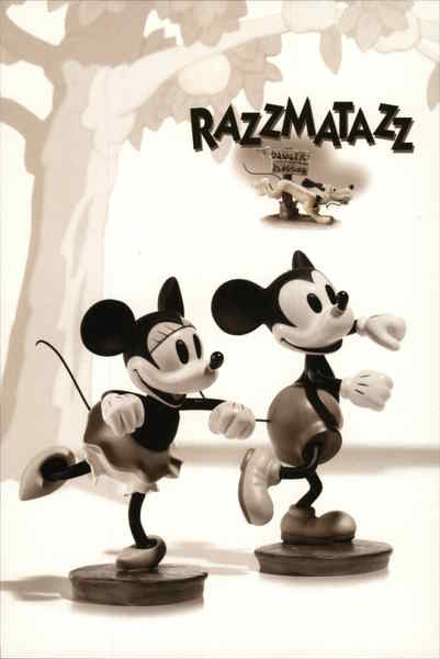 Razzmatazz Figurines, Minnie & Mickey Mouse Modern (1970's to Present)