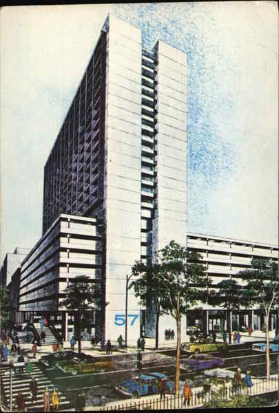 Howard Johnson's 57 Park Plaza Motor Hotel Boston Massachusetts
