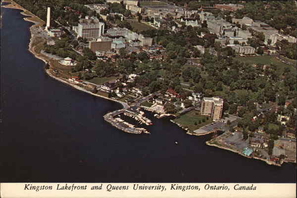 Kingston Lakefront and Queens University Canada Ontario