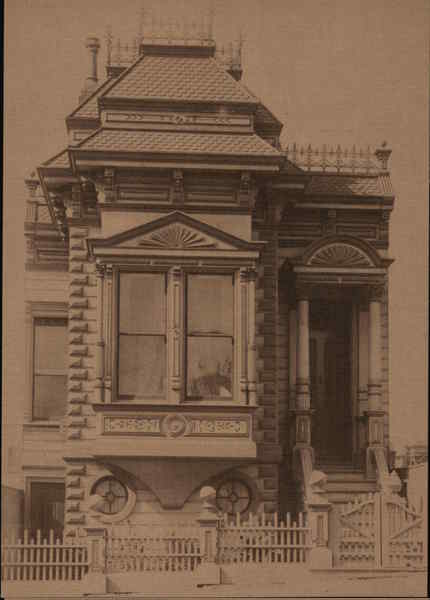 City Cottage San Francisco California George Waters