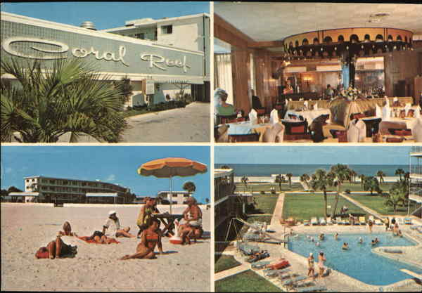 Coral Reef Motor Inn Saint Petersburg Beach Florida