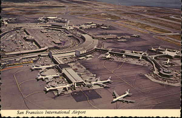 San Francisco International Airport California Gerry French