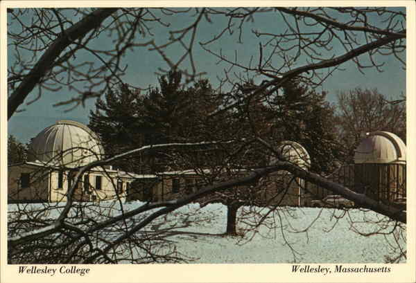 Wellesley College - The Whitin Observatory Massachusetts