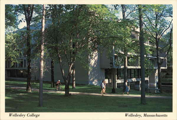 Wellesley College - Margaret Clapp Library Massachusetts