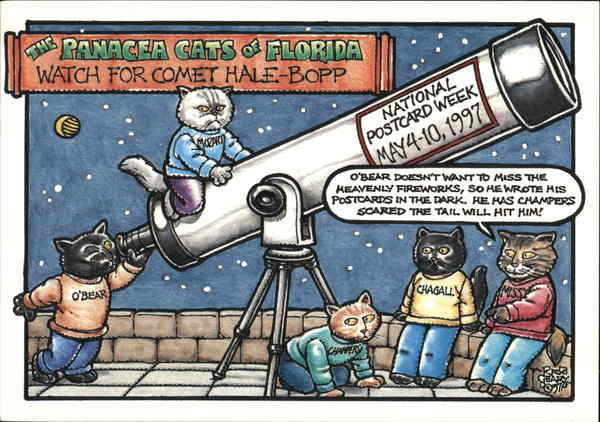 The Panacea Cats of Florida Watch for Comet Hale-Bopp