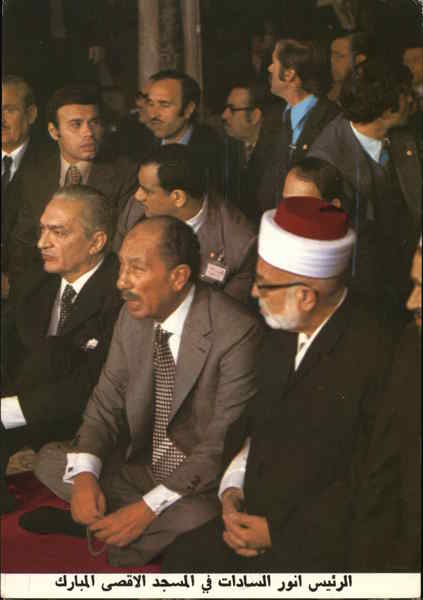 President Sadat of Egypt Political