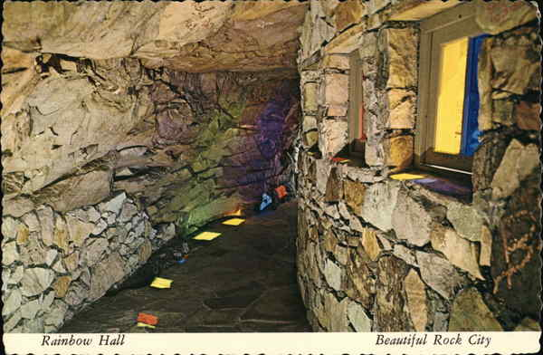 Rainbow Hall, Rock City Gardens, Lookout Mountain Chattanooga Tennessee