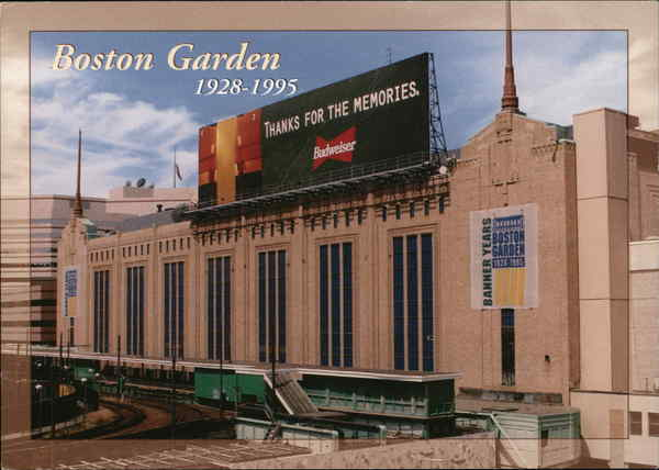 The Boston Garden (1928-1995) Massachusetts