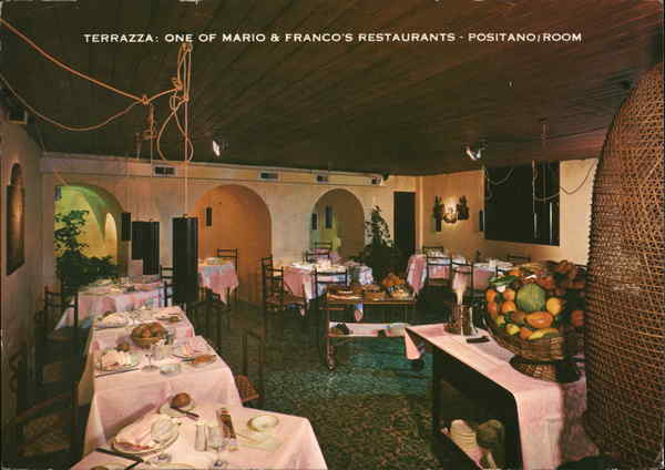 Mario & Franco\'s Terrazza Restaurant - Positano Room London, England ...