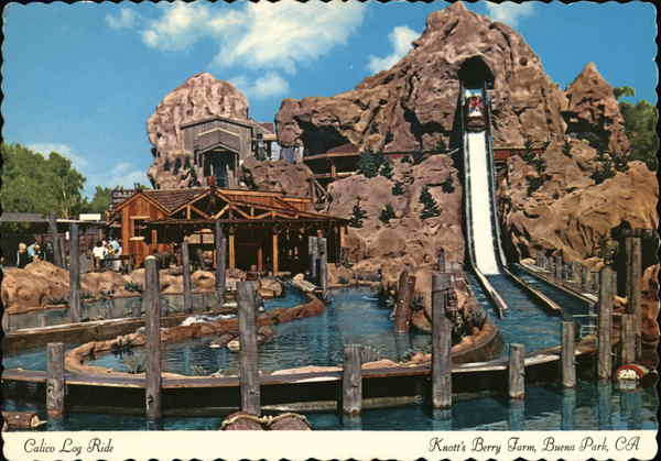 Knott's Berry Farm - Calico Log Ride Buena Park California
