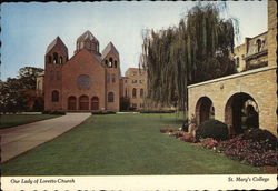 Our Lady of Loretto Church, St. Mary's College