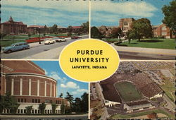 Purdue University Postcard