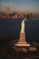 World Trade Center from Statue of Liberty