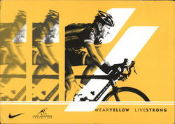 Lance Armstrong, Wear Yellow, Live Strong