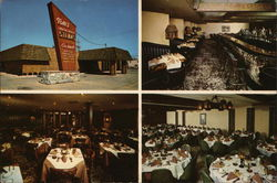 Tom's Steak House Postcard
