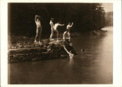 Skinny Dipping at the Swimming Hole