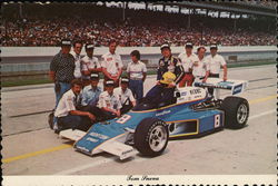 Tom Sneva at the Race Track