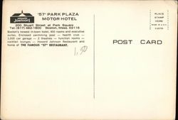 Howard Johnson's 57 Park Plaza Motor Hotel