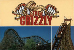 The Grizzly Rollercoaster - California's Great America