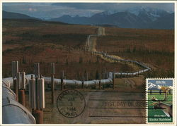 Alaska Pipeline First Day Cover