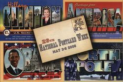 26th National Postcard Week May 3-9 2009