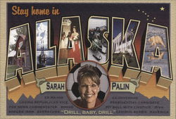 Sarah Palin - Stay Home in Alaska
