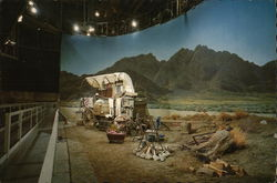 Western Set on Sound Stage at Universal Studios