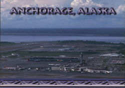 View of Airport in Anchorage, Alaska