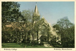 Wellesley College - Houghton Memorial Chapel